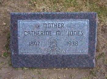 JONES, CATHERINE M - Stevens County, Kansas | CATHERINE M JONES - Kansas Gravestone Photos
