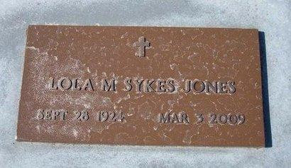 JONES, LOLA M - Stevens County, Kansas | LOLA M JONES - Kansas Gravestone Photos