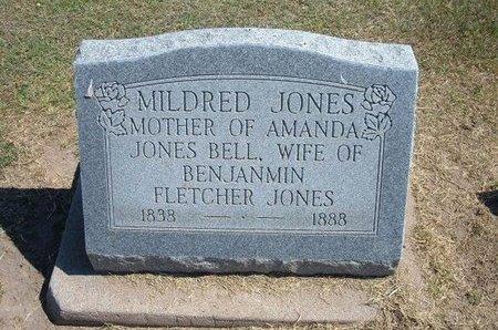 JONES, MILDRED - Stevens County, Kansas   MILDRED JONES - Kansas Gravestone Photos