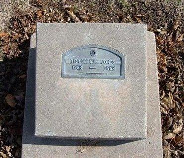 JONES, TENESE SUE - Stevens County, Kansas | TENESE SUE JONES - Kansas Gravestone Photos