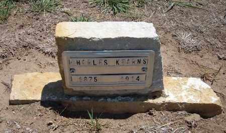 KEARNS, CHARLES - Stevens County, Kansas | CHARLES KEARNS - Kansas Gravestone Photos