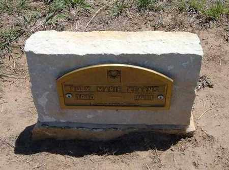 KEARNS, RUBY MARIE - Stevens County, Kansas | RUBY MARIE KEARNS - Kansas Gravestone Photos