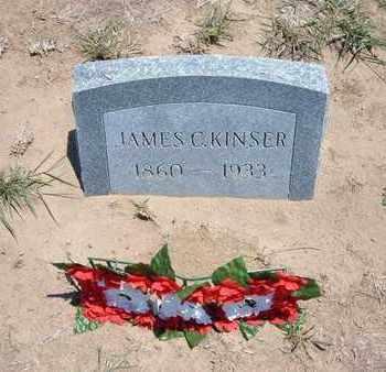 KINSER, JAMES C. - Stevens County, Kansas   JAMES C. KINSER - Kansas Gravestone Photos