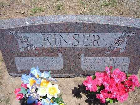 KINSER, WILLIAM M. - Stevens County, Kansas | WILLIAM M. KINSER - Kansas Gravestone Photos