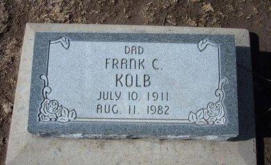 KOLB, FRANK C - Stevens County, Kansas   FRANK C KOLB - Kansas Gravestone Photos