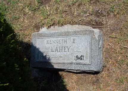 LAHEY, KENNETH E - Stevens County, Kansas | KENNETH E LAHEY - Kansas Gravestone Photos