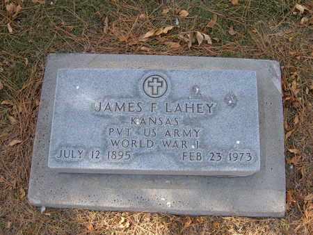 LAHEY, JAMES FLEMING  (VETERAN WWI) - Stevens County, Kansas   JAMES FLEMING  (VETERAN WWI) LAHEY - Kansas Gravestone Photos