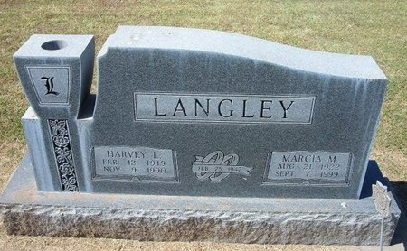 LANGLEY, HARVEY L - Stevens County, Kansas | HARVEY L LANGLEY - Kansas Gravestone Photos
