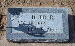 LEONARD, ALMA A - Stevens County, Kansas   ALMA A LEONARD - Kansas Gravestone Photos