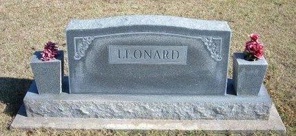 LEONARD, FAMILY STONE - Stevens County, Kansas | FAMILY STONE LEONARD - Kansas Gravestone Photos