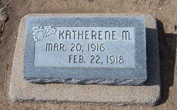 LEONARD, KATHERENE M - Stevens County, Kansas | KATHERENE M LEONARD - Kansas Gravestone Photos