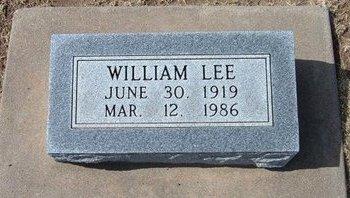 LEONARD, WILLIAM LEE - Stevens County, Kansas | WILLIAM LEE LEONARD - Kansas Gravestone Photos