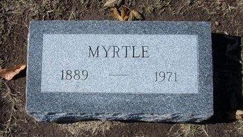 FIDLER LESTER, MYRTLE ESTELLE - Stevens County, Kansas   MYRTLE ESTELLE FIDLER LESTER - Kansas Gravestone Photos