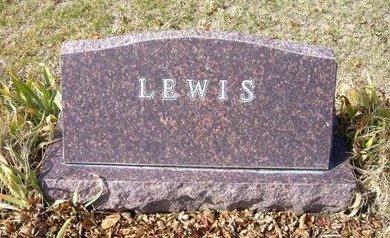 LEWIS, FAMILY STONE - Stevens County, Kansas | FAMILY STONE LEWIS - Kansas Gravestone Photos