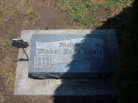 HENDERSON LEWIS, MABEL JUNE - Stevens County, Kansas | MABEL JUNE HENDERSON LEWIS - Kansas Gravestone Photos