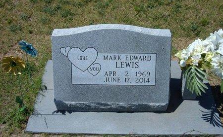 LEWIS, MARK EDWARD - Stevens County, Kansas   MARK EDWARD LEWIS - Kansas Gravestone Photos