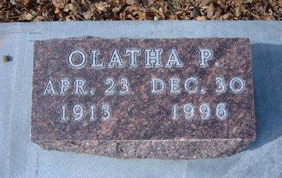 LEWIS, OLATHA P - Stevens County, Kansas | OLATHA P LEWIS - Kansas Gravestone Photos