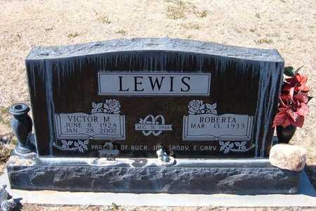LEWIS, VICTOR MURDOCK, JR - Stevens County, Kansas | VICTOR MURDOCK, JR LEWIS - Kansas Gravestone Photos