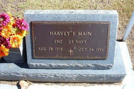 MAIN, HARVEY F (VETERAN) - Stevens County, Kansas | HARVEY F (VETERAN) MAIN - Kansas Gravestone Photos