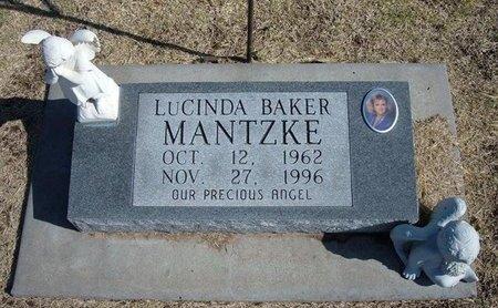 MANTZKE, LUCINDA - Stevens County, Kansas | LUCINDA MANTZKE - Kansas Gravestone Photos