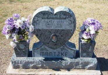 MANTZKE, RICKEY VERL - Stevens County, Kansas   RICKEY VERL MANTZKE - Kansas Gravestone Photos