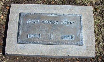 MARKS, DORIS - Stevens County, Kansas | DORIS MARKS - Kansas Gravestone Photos
