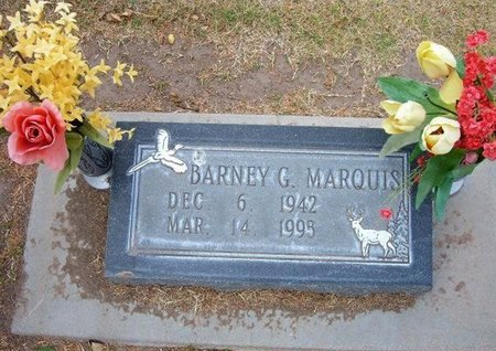 MARQUIS, BARNEY G - Stevens County, Kansas | BARNEY G MARQUIS - Kansas Gravestone Photos