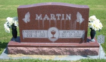 STUDER MARTIN, GENEVIEVE  LOU - Stevens County, Kansas | GENEVIEVE  LOU STUDER MARTIN - Kansas Gravestone Photos