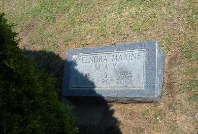 MAY, ELNORA MAXINE - Stevens County, Kansas   ELNORA MAXINE MAY - Kansas Gravestone Photos
