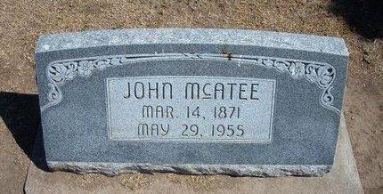 MCATEE, JOHN - Stevens County, Kansas   JOHN MCATEE - Kansas Gravestone Photos