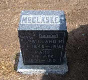 MCCLASKEY, WILLARD H - Stevens County, Kansas   WILLARD H MCCLASKEY - Kansas Gravestone Photos