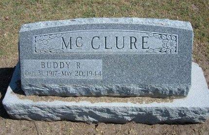 MCCLURE, BUDDY R - Stevens County, Kansas | BUDDY R MCCLURE - Kansas Gravestone Photos
