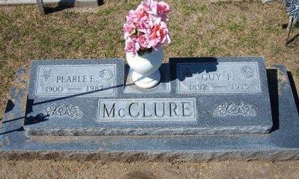 MCCLURE, GUY FRANKLIN - Stevens County, Kansas | GUY FRANKLIN MCCLURE - Kansas Gravestone Photos