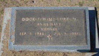 MCCLURE , DOCK FRANKLIN WILLIS, JR   (VETERAN VIET) - Stevens County, Kansas | DOCK FRANKLIN WILLIS, JR   (VETERAN VIET) MCCLURE  - Kansas Gravestone Photos