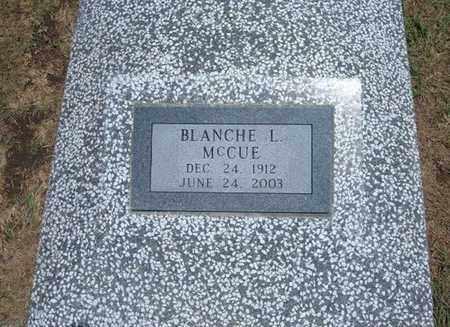 GASKILL MCCUE, BLANCHE L - Stevens County, Kansas   BLANCHE L GASKILL MCCUE - Kansas Gravestone Photos
