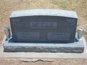 MCCUE, HOMER ELBERT - Stevens County, Kansas | HOMER ELBERT MCCUE - Kansas Gravestone Photos