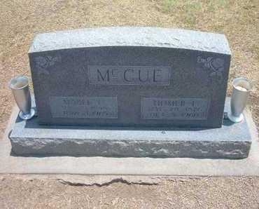 MCCUE, MABEL CECILIA - Stevens County, Kansas | MABEL CECILIA MCCUE - Kansas Gravestone Photos