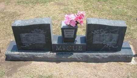 MCCUE, HAZEL MARY - Stevens County, Kansas | HAZEL MARY MCCUE - Kansas Gravestone Photos