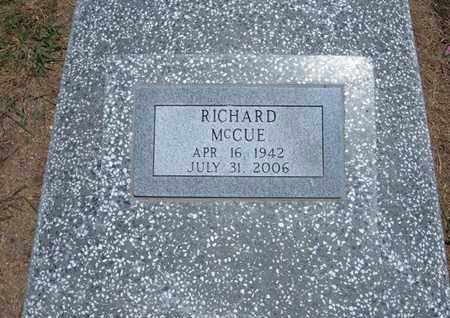 MCCUE, RICHARD DUANE - Stevens County, Kansas | RICHARD DUANE MCCUE - Kansas Gravestone Photos