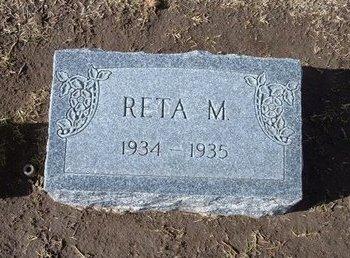 MCGEHEE, RETA - Stevens County, Kansas | RETA MCGEHEE - Kansas Gravestone Photos