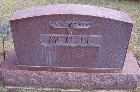 MCGILL, FAMILY STONE - Stevens County, Kansas   FAMILY STONE MCGILL - Kansas Gravestone Photos
