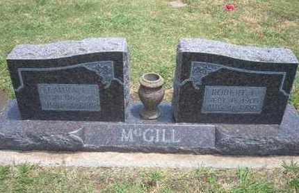 MCGILL, ROBERT LEE - Stevens County, Kansas | ROBERT LEE MCGILL - Kansas Gravestone Photos