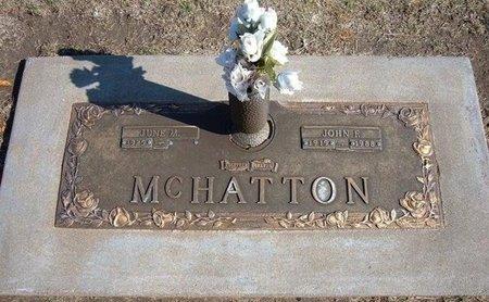 MCHATTON, JOHN F - Stevens County, Kansas | JOHN F MCHATTON - Kansas Gravestone Photos