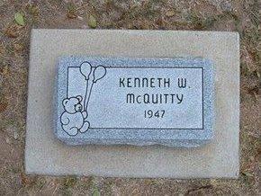 MCQUITTY, KENNETH W - Stevens County, Kansas   KENNETH W MCQUITTY - Kansas Gravestone Photos