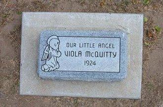 MCQUITTY, VIOLA - Stevens County, Kansas | VIOLA MCQUITTY - Kansas Gravestone Photos