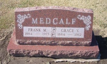 MEDCALF, GRACE V - Stevens County, Kansas | GRACE V MEDCALF - Kansas Gravestone Photos
