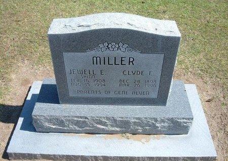 MILLER, JEWELL E - Stevens County, Kansas | JEWELL E MILLER - Kansas Gravestone Photos