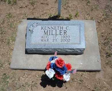 MILLER, KENNETH C. - Stevens County, Kansas | KENNETH C. MILLER - Kansas Gravestone Photos