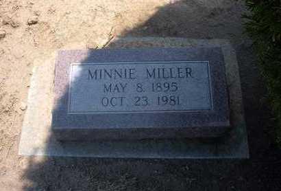 MILLER, MINNIE - Stevens County, Kansas | MINNIE MILLER - Kansas Gravestone Photos