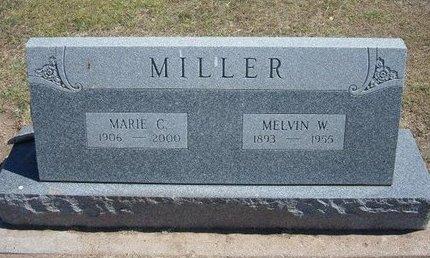 MILLER, MARIE C - Stevens County, Kansas | MARIE C MILLER - Kansas Gravestone Photos